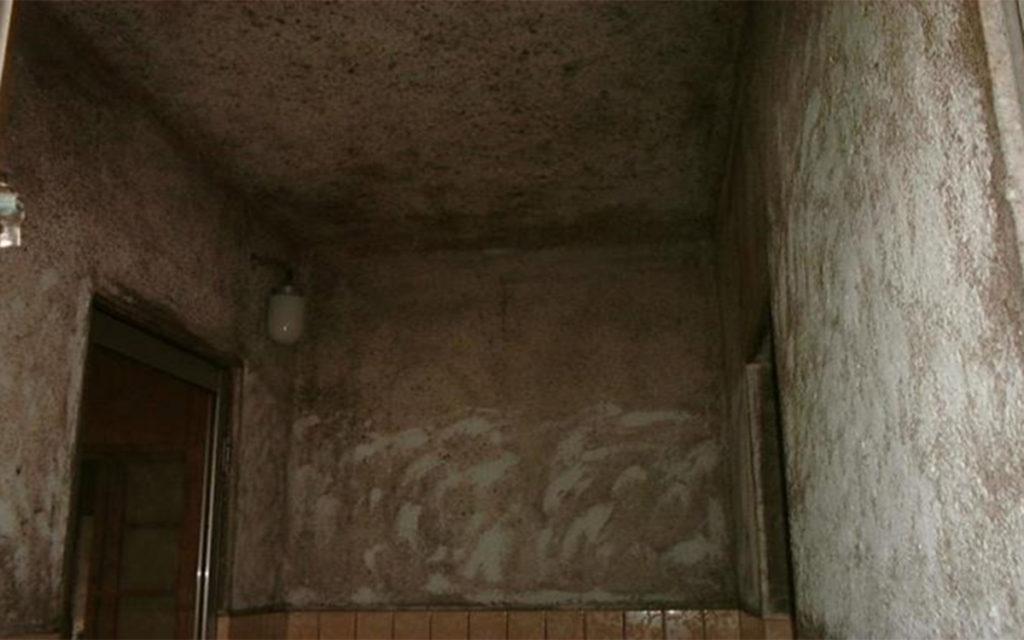 カビ除去・防カビ 浴室施工例 施工前