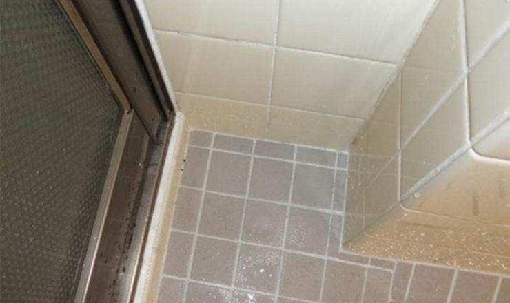 浴室内部もらい錆施工例 施工後
